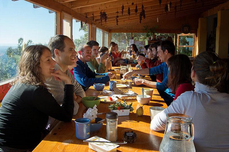 detox camp Dining